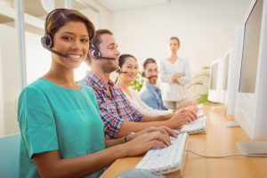 call-center-agent-working-under-a-manager-supervision